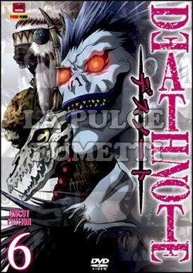 DEATH NOTE #     6 - EPISODI 21/24