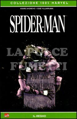 100% MARVEL - SPIDER-MAN: IL REGNO RISTAMPA VARIANT COVER
