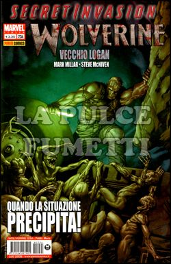 WOLVERINE #   234 - VECCHIO LOGAN - SECRET INVASION