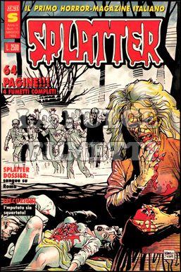 SPLATTER #    11
