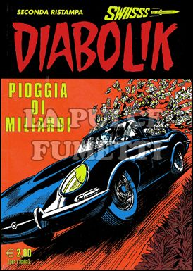 DIABOLIK SWIISSS #   181: PIOGGIA DI MILIARDI