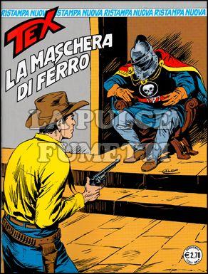 TEX NUOVA RISTAMPA #   232: LA MASCHERA DI FERRO
