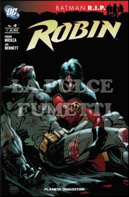 ROBIN #     4 - BATMAN RIP
