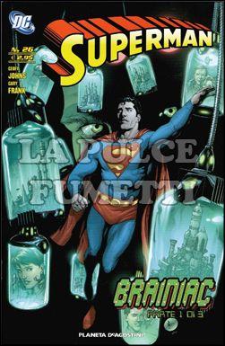 SUPERMAN #    26 - BRAINIAC 1
