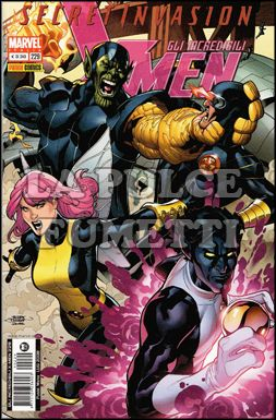 INCREDIBILI X-MEN #   229 - SECRET INVASION