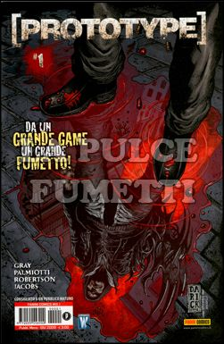 PANINI COMICS MIX #     1 - PROTOTYPE  1
