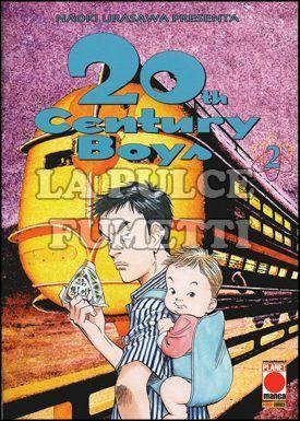 20TH CENTURY BOYS #     2 - 2A RISTAMPA