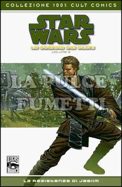 100% CULT COMICS - STAR WARS LE GUERRE DEI CLONI 3: LA RESISTENZA DI JABIM
