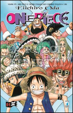 YOUNG #   179 - ONE PIECE 51 CORRETTO