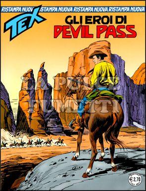 TEX NUOVA RISTAMPA #   234: GLI EROI DI DEVIL PASS