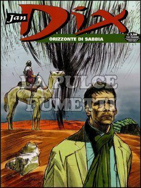 JAN DIX #     8: ORIZZONTE DI SABBIA