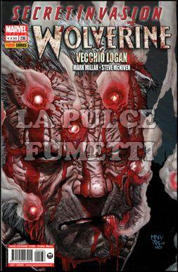 WOLVERINE #   236 - VECCHIO LOGAN - SECRET INVASION