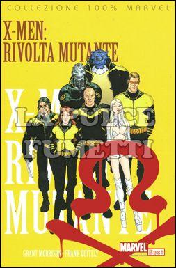 100% MARVEL BEST - X-MEN MORRISON  4: RIVOLTA MUTANTE