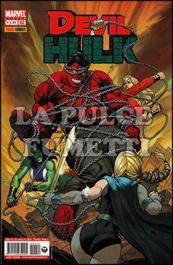 DEVIL E HULK #   152