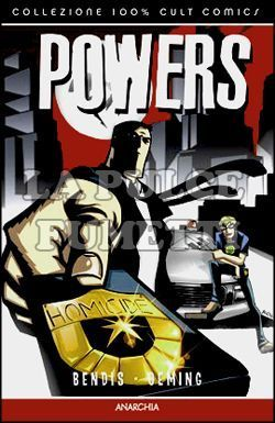 100% CULT COMICS - POWERS #     5: ANARCHIA