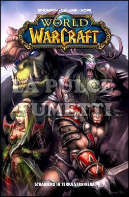 100% CULT COMICS BEST - WORLD OF WARCRAFT  1: STRANIERO IN TERRA STRANIERA