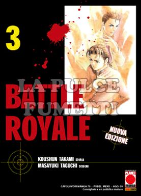 CAPOLAVORI MANGA #    79 - BATTLE ROYALE  3