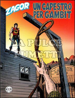 ZENITH #   579 - ZAGOR 528: UN CAPESTRO PER GAMBIT