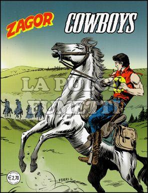 ZENITH #   580 - ZAGOR 529: COWBOYS