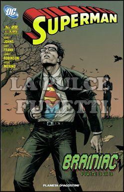 SUPERMAN #    28 - BRAINIAC 3