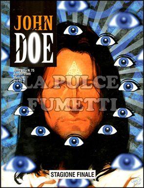 JOHN DOE #    75: STAGIONE FINALE