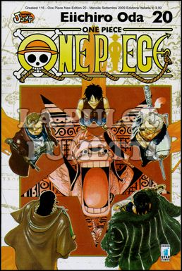 GREATEST #   116 - ONE PIECE NEW EDITION 20