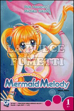 GP KIDS #     1 - MERMAID MELODY 1 + CARDS