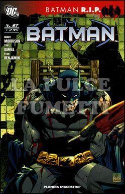 BATMAN #    27 - BATMAN RIP PROLOGO