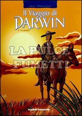 VIAGGIO DI DARWIN #     3: LA PAMPA