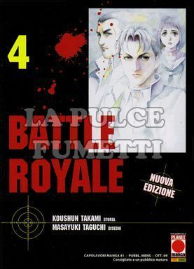 CAPOLAVORI MANGA #    81 - BATTLE ROYALE  4