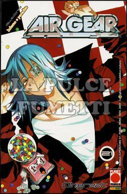 MANGA SUPERSTARS #    57 - AIR GEAR 21