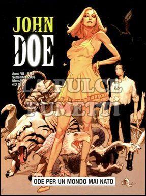 JOHN DOE #    76: ODE PER UN MONDO MAI NATO