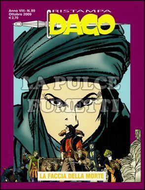 DAGO RISTAMPA #    89: LA FACCIA DELLA MORTE