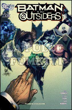 BATMAN E GLI OUTSIDERS #     5