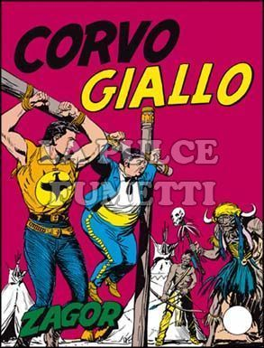 ZENITH #    55 - ZAGOR   4: CORVO GIALLO