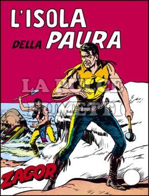 ZENITH #    62 - ZAGOR  11: L'ISOLA DELLA PAURA
