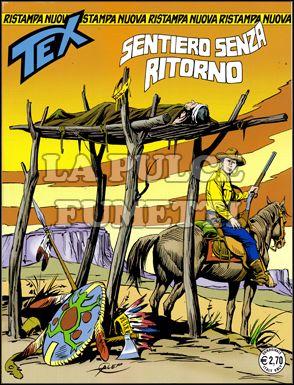TEX NUOVA RISTAMPA #   245: SENTIERO SENZA RITORNO