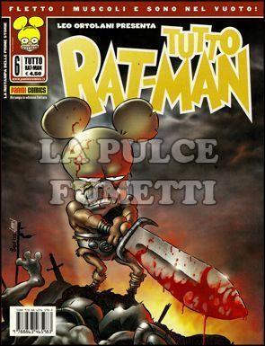 TUTTO RAT-MAN #     6: CINZIA LA BARBARA - 3A RISTAMPA