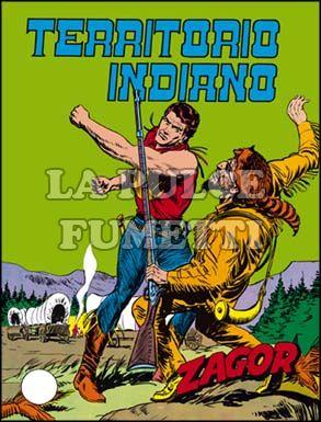 ZENITH #    70 - ZAGOR  19: TERRITORIO INDIANO