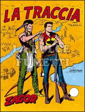 ZENITH #    76 - ZAGOR  25: LA TRACCIA