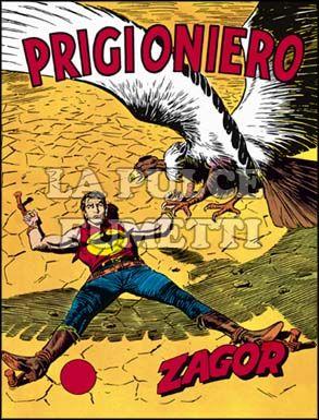 ZENITH #    89 - ZAGOR  38: PRIGIONIERO!