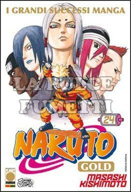 NARUTO GOLD DELUXE #    24