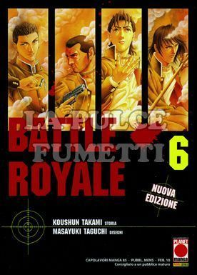 CAPOLAVORI MANGA #    85 - BATTLE ROYALE  6