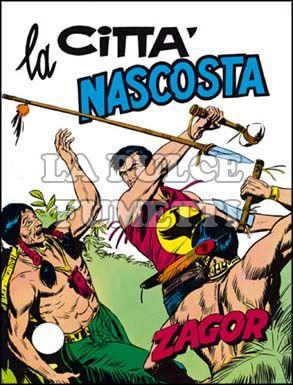 ZENITH #   101 - ZAGOR  50: LA CITTA'  NASCOSTA
