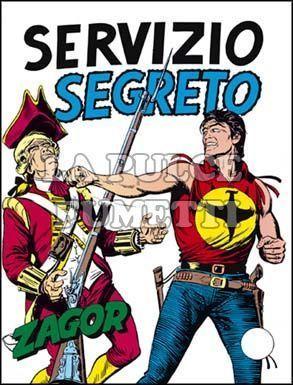 ZENITH #   110 - ZAGOR  59: SERVIZIO SEGRETO