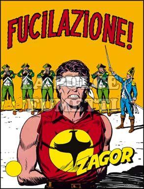 ZENITH #   111 - ZAGOR  60: FUCILAZIONE! - CON INSERTO