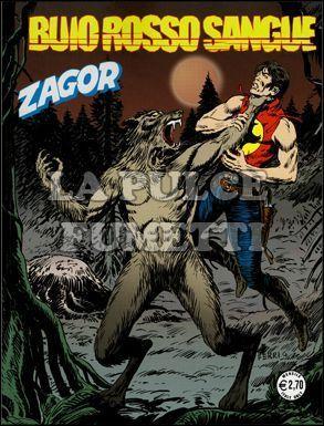 ZENITH #   586 - ZAGOR 535: BUIO ROSSO SANGUE