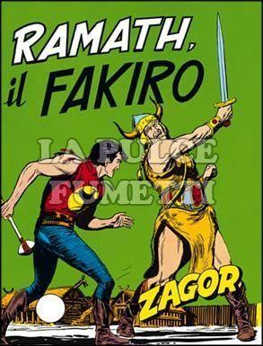 ZENITH #   115 - ZAGOR  64: RAMATH IL FAKIRO