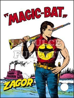 ZENITH #   117 - ZAGOR  66: MAGIC-BAT