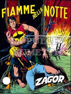 ZENITH #   121 - ZAGOR  70: FIAMME NELLA NOTTE